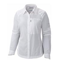 Camisa Silver Ridge Columbia Comoda Hidroabsorbente Mujer