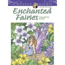 Creativa Refugio Enchanted Coloring Book Hadas (adulto Para