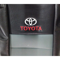 Funda Cubre Asiento Toyota Hilux 2016 D/c Apoya Brazo Gris
