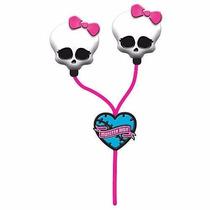 Fone De Ouvido Earbuds Monster High Pronta Entrega