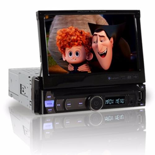 Autoestereo Power Acoustik Pdr-780b Lcd Touch Screen Usb Sd - $ 2,499.00 en Mercado Libre