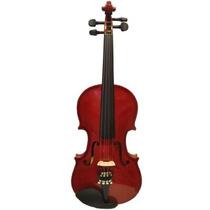 Violino Guarneri 4/4 Dark Ambar Com Estojo Luxo Completo