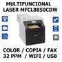 Multifuncion Laser Color Oficio Duplex Brother Mfc-l8850cdw