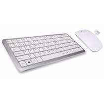 Kit Teclado Y Mouse Inalambrico Slim Usb Netmak Nm-kb570w