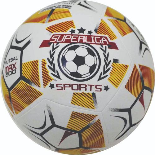 Bola Futsal Super Liga Infantil Matrix Max 200 - Sub 12 13 - R  52 ... 5af181878fe46