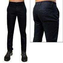 Calça Jeans Social Tamanho 38 Até Tamanho Grande Nº 56 Plus