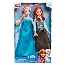 Anna Y Elsa Con Patines Frozen Disney Collection