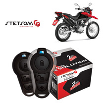 Alarme Moto Presença Partida Stetsom Honda Nxr 160 Bros 15