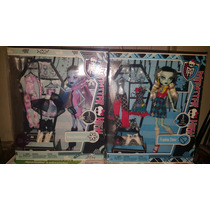 Monster High Abbey Y Frankie Con Tres Cambios De Ropa