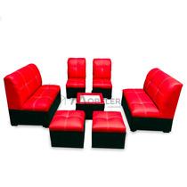 Sala Lounge Infantil Mini Salas Para Niños Sillones Puff