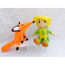 Pequeno Príncipe E Raposa Kit Modelo Novo