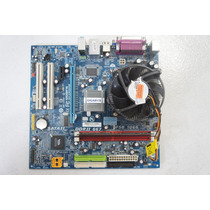 Kit Placa Mãe Gigabyte Ga-vm900m Fsb1066+1gb De Memoria Ddr2