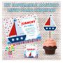 Kit Imprimible Nautico Barco Multievento Listo Para Imprimir
