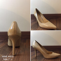 Zapatos Tacones Para Dama Nine West Originales Talla 71/2 Lb