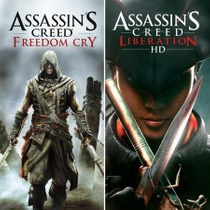Ps3 - Assassins Creed Freedom Cry E Liberation - Cód Digital