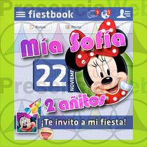 Invitaciones Originales Tipo Facebook, Gratis Envio Facebook