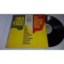 Emilio Pericoli Sings In English ¡italian The Golden Hits Lp