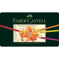 Faber Castell Polychromos Lapices De Colores,set De 60 Pzas