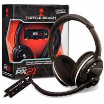 Headset Fone Turtle Beach Px21 Ps3 Xbox Pc Imac Frete Gratis