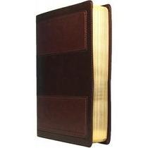 Biblia De Estudio Vida Plena Piel Italiana Café Rvr60