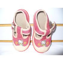 Zapatos De Niña Con Hello Kitty