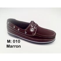 Zapato Casual En Cuero Y Cocidos Tallas Del 37 Al 44