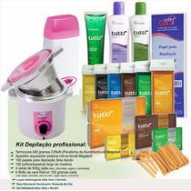 Kit Depilação Profissional 211 Itens
