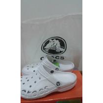 Zapatos, Cholas Crocs Blancas Rs21