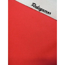 Paño Para Pool Forrado Rojo Excelente Calidad