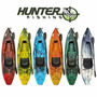 Caiaque Hunter Fishing - Brudden Náutica - Pronta Entrega