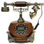 Telefone De Mesa Retro Vintage Com Discador Digital - Lindo