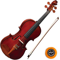 Violino Eagle 4/4 Microafinador + Case Luxo Ve441 Eagle
