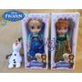 Pack Frozen Elsa, Anna Y Olaf Musicales Tipo Animator Disney