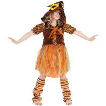 Disfraz De Espanta Pajaros Para Niñas, Envio Gratis