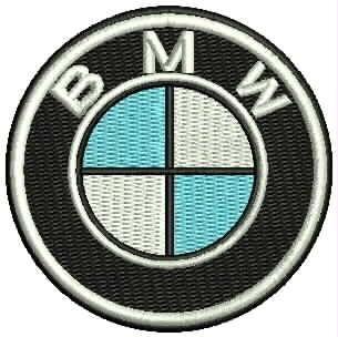 d9ca8bbadfc32 Patch Bordado Cm024 Logo Bmw 6 Cm Automobilismo Car Tag - R  22