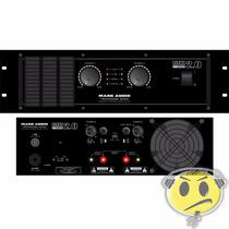Amplificador Potência Mark Audio Mk 2.0 2000w- Loja Kadu Som