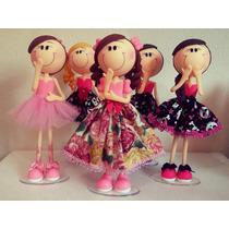 Boneca Magrela Feita Em Biscuit