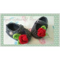 Zapatos Para Bebé Niña Tejidos