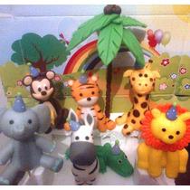 4 Animales De La Selva !!! - Adorno P- Tu Torta