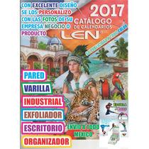 Calendario 2017 Taco Exfoliador Varilla Pared Escritorio Len