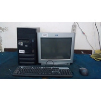 Computadora Pc Pentium 4 Con Monitor ..1 Año De Gtia...!!!!