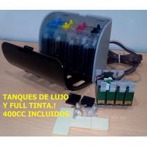 Sistema Continuo Para Epson T22 Tx120 Tx130 Nx125 Full Tinta