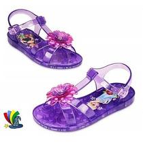 Sandalias De Gel Elsa Y Anna Frozen Originales Disney Store