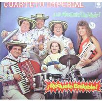 Cuarteto Imperial -requetebailable-vinilo-muy Raro