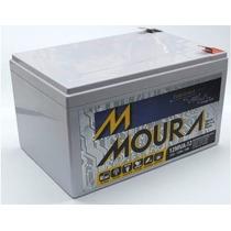 Bateria Moura 12v 12ah Vrla P/ Bicicletas Elétricas