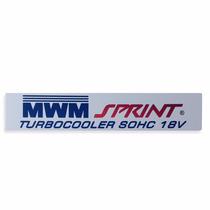 Emblema Motor Mwm Da F250 Silverado S10 Frontier 6cc Sprint