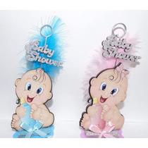 10 Souvenirs Armados Nacimientos Bautismos Baby Shower Varon