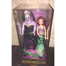 Muñecas Disney Ariel Ursula Fairytale Heroes Villanos Nuevo