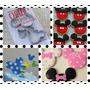 Cortante Mickey Minnie Set X3 Tortas Galletitas Cupcakes