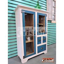 Mueble De Cocina. Organizador. Cristalero. Retro-vintage !!